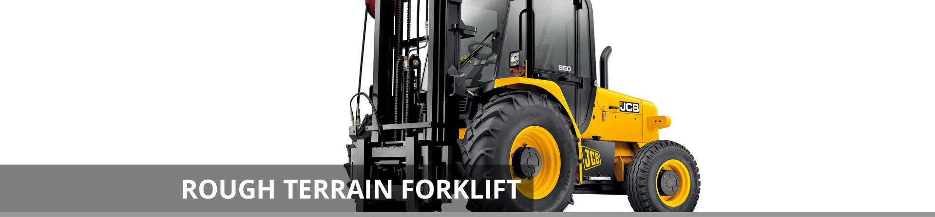 Rough Terrain Forklift Header